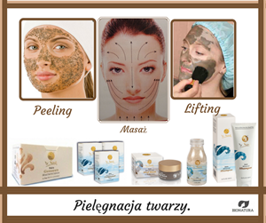 Codzienne i okresowe zabiegi mające na celu odmładzanie skóry.