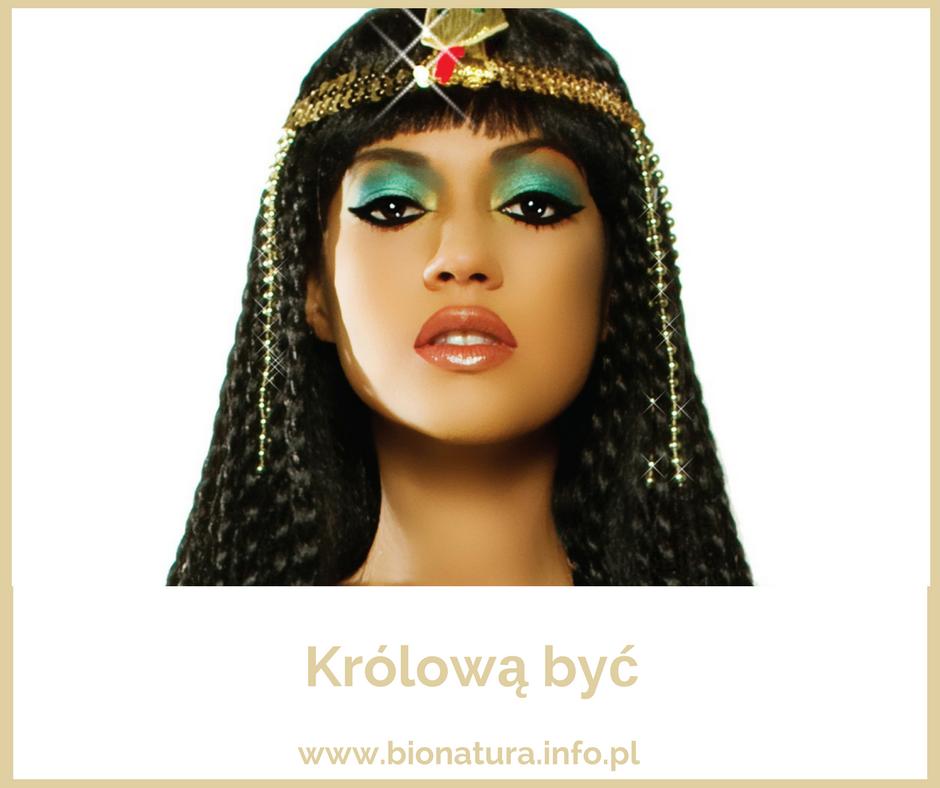 piękna kleopatra, królowa, maseczka, dr nona