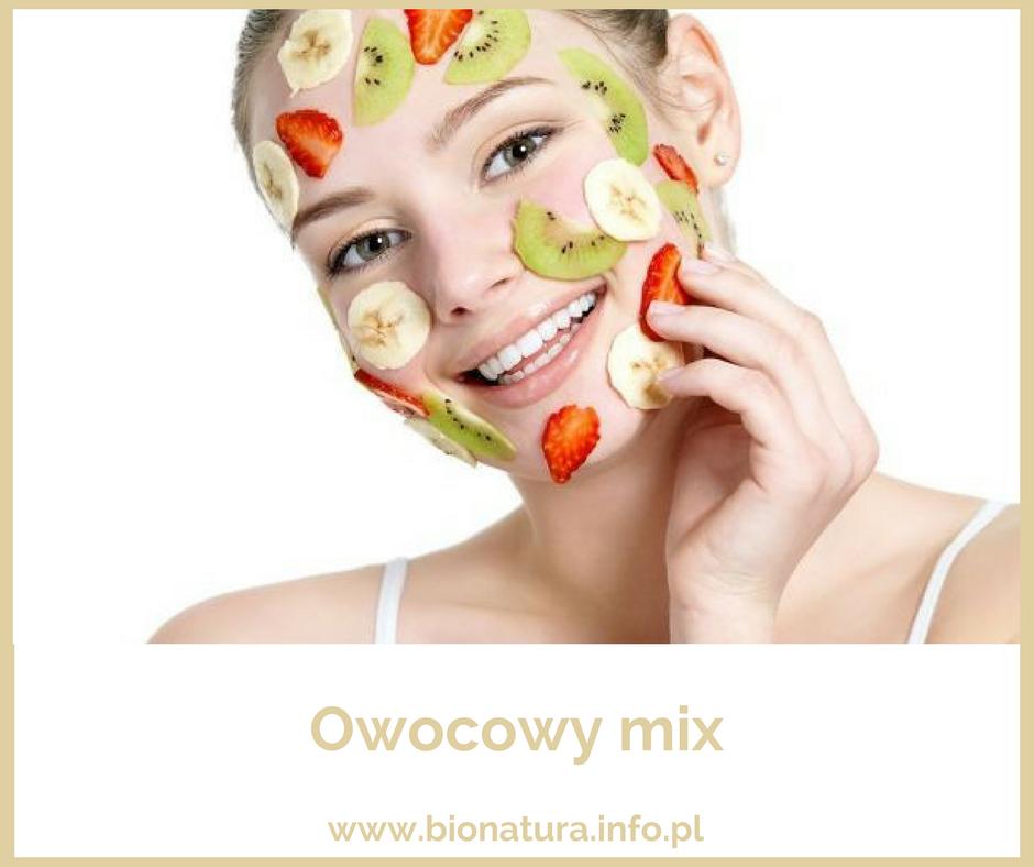 maseczka owocowa na twarzy, bomba witaminowa, odporność, dakseen dr nona