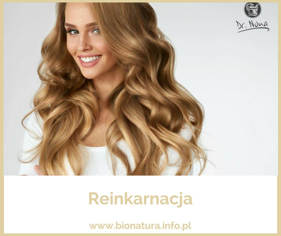 piękna młoda kobieta o długich falowanych blond włosach, dr nona, maseczka regeneracyjna, reinkarnacja