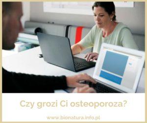 Osteoporoza – problem, któremu można skutecznie zapobiec