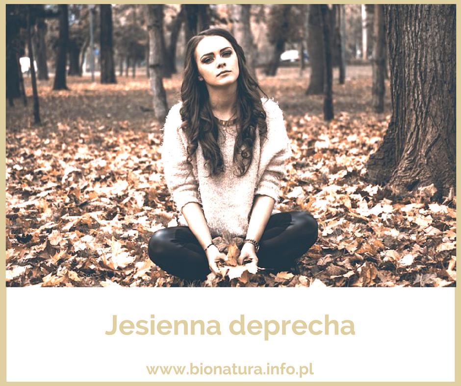 dziewczyna smutna w liściach, jesień, depresja, jak pokonać depresję
